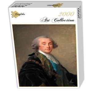 """Grafika (02174) - Élisabeth Vigée Le Brun: """"Alexandre Charles Emmanuel de Crussol-Florensac, 1787"""" - 2000 pieces puzzle"""