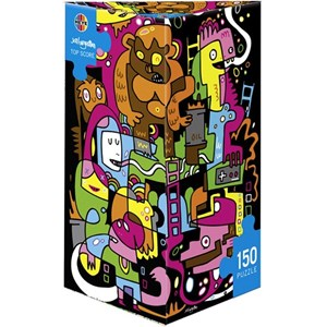 "Heye (29483) - Jon Burgerman: ""Best score"" - 150 pieces puzzle"